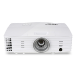 Acer Large Venue P1185 Desktop projector 3300ANSI lumens DLP SVGA (800x600) White data projector