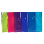 Rapesco Bright Popper Wallet report cover Polypropylene (PP)