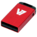 V7 Nano USB 2.0 4GB USB flash drive USB Type-A Rood