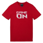 ASUS ROG Game On T-Shirt, Red, Medium