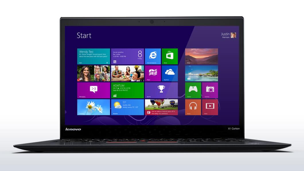 ThinkPad X1 Carbon i5-5200u / 4GB 180GB SSD 14in Win7 Pro / Win10 Pro Qw