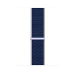 Apple MJG23ZM/A smartwatch accessory Band Blau Nylon