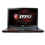 "MSI Gaming GE72MVR Apache Pro i7-7700HQ 17.3"" 1920 x 1080pixels Black Notebook"