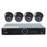 IQCCTV IQS1080V4H video surveillance kit Wired 4 channels