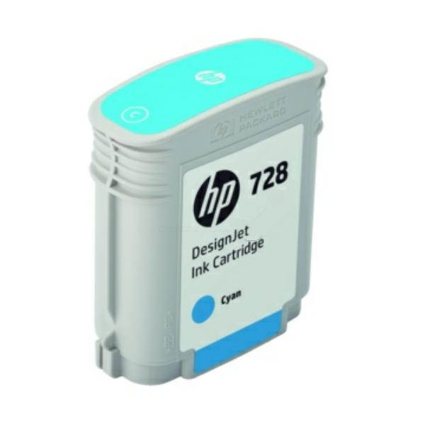 HP F9J63A (728) Ink cartridge cyan, 40ml