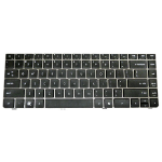 HP 646365-051 AZERTY French Black keyboard
