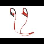 Panasonic RP-BTS30E-R Ear-hook Binaural Wireless Red mobile headset