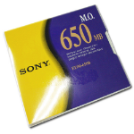 "Sony 5.25"" Magneto-Optical Disc, 650MB magneto optical disk 13.3 cm (5.25"")"