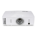 Acer Basic X1385WH Desktop projector 3200ANSI lumens DLP WXGA (1280x800) 3D White data projector