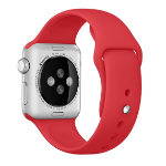 Apple MLD82ZM/A Band Red Fluoroelastomer