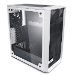 Fractal Design Meshify C - TG Midi Tower Transparent, White