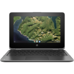 """HP Chromebook x360 11 G2, 11.6"""" HD Touch + Digitizer, Celeron N4000, 8GB, 64GB eMMC, Chrome 64, Storm G"""
