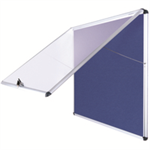 Bi-Office ST390101150 bulletin board Fixed bulletin board Blue Aluminium