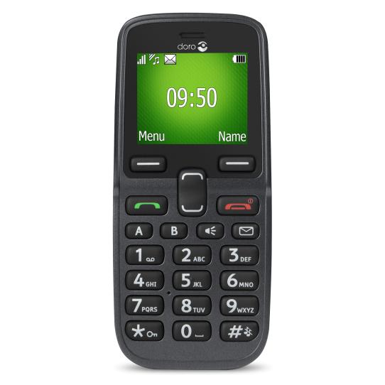 """Doro PhoneEasy 5030 1.7"""" 78g Black,Graphite"""