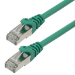 MCL 1m Cat6a S/FTP cable de red S/FTP (S-STP) Verde