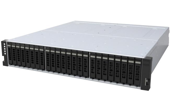 Western Digital 2U24 unidad de disco multiple 11,52 TB Bastidor (2U) Negro, Gris
