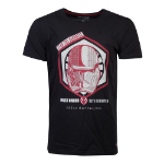 Star Wars Rise of Skywalker Lead the Darkness First Order Sith Trooper 105th Battalion T-Shirt, Male, Extra La