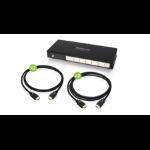 iogear GHSP8424BKIT video splitter HDMI 4x HDMI