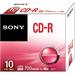 Sony 10-Pack Inkject Printable CD-R Disc