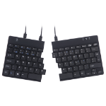 R-Go Tools R-Go Split Break Ergonomic Keyboard, QWERTY (US), black, wired
