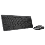 Dell Wireless Keyboard & Mouse - Black, UK & Ireland (580-18381)