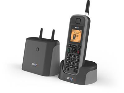 British Telecom 079482 telephone DECT telephone Black Caller ID