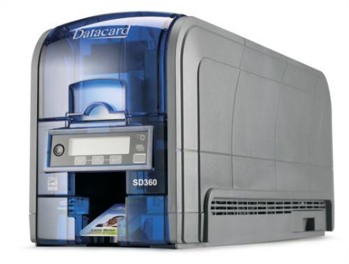 DataCard SD360 plastic card printer Dye-sublimation Colour 300 x 300 DPI