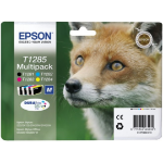 Epson C13T12854010 (T1285) Ink cartridge multi pack, 225 pages, 5,9 ml + 3x3,5 ml, Pack qty 4