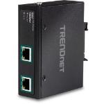 Trendnet TI-E100 network extender Network transmitter 10,100,1000 Mbit/s Black
