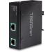 Trendnet TI-E100 ampliador de red Transmisor de red 10,100,1000 Mbit/s Negro