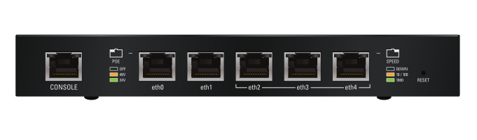 Ubiquiti Networks EdgeRouter ERPOE-5 Ethernet LAN Black wired router
