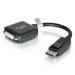 C2G 20cm DisplayPort M / DVI F DVI-D Negro