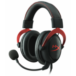 Kingston Technology Kingston HyperX Cloud II Gaming Headset - Black/Red - (KHX-HSCP-RD)