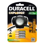 Duracell EXPLORER Headband flashlight LED Black