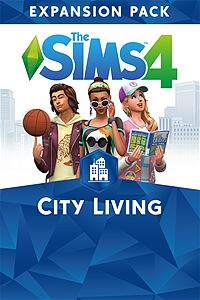Microsoft The Sims 4 City Living Video game downloadable content (DLC) Xbox One