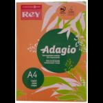 ADAGIO Rey Adagio A4 Paper 80gsm Deep Orange RM500