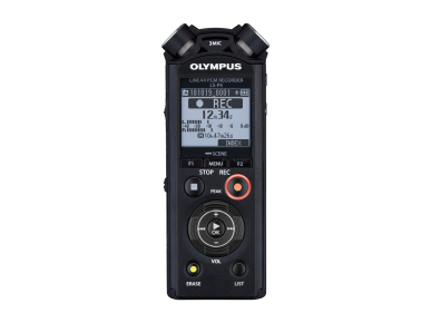 Olympus LS-P4 dictaphone Internal memory & flash card Black