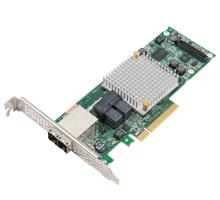Adaptec Raid 8885Q SAS/SATA 12Gb/s 8x Pci-e 3 Controller 16 Port Single