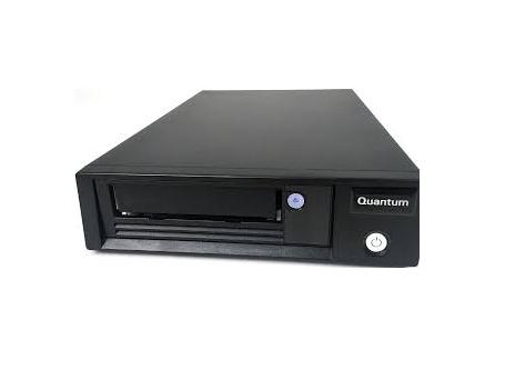 Quantum LTO-7 Tape Drive Half Height Tabletop SAS HBA Bundle 6Gb/s SAS Black