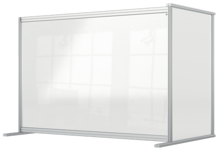 Nobo 1915495 magnetic board Grey, Transparent