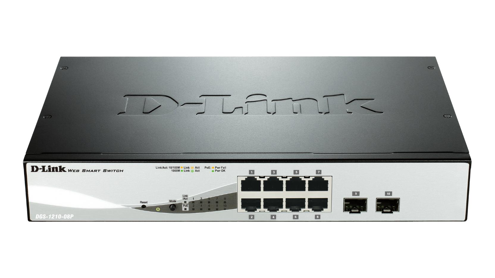 D-Link DGS-1210-08P network switch