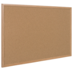 Bi-Office SF352001233 bulletin board Fixed bulletin board Brown Cork