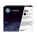 HP CF281X (81X) Toner black, 25K pages