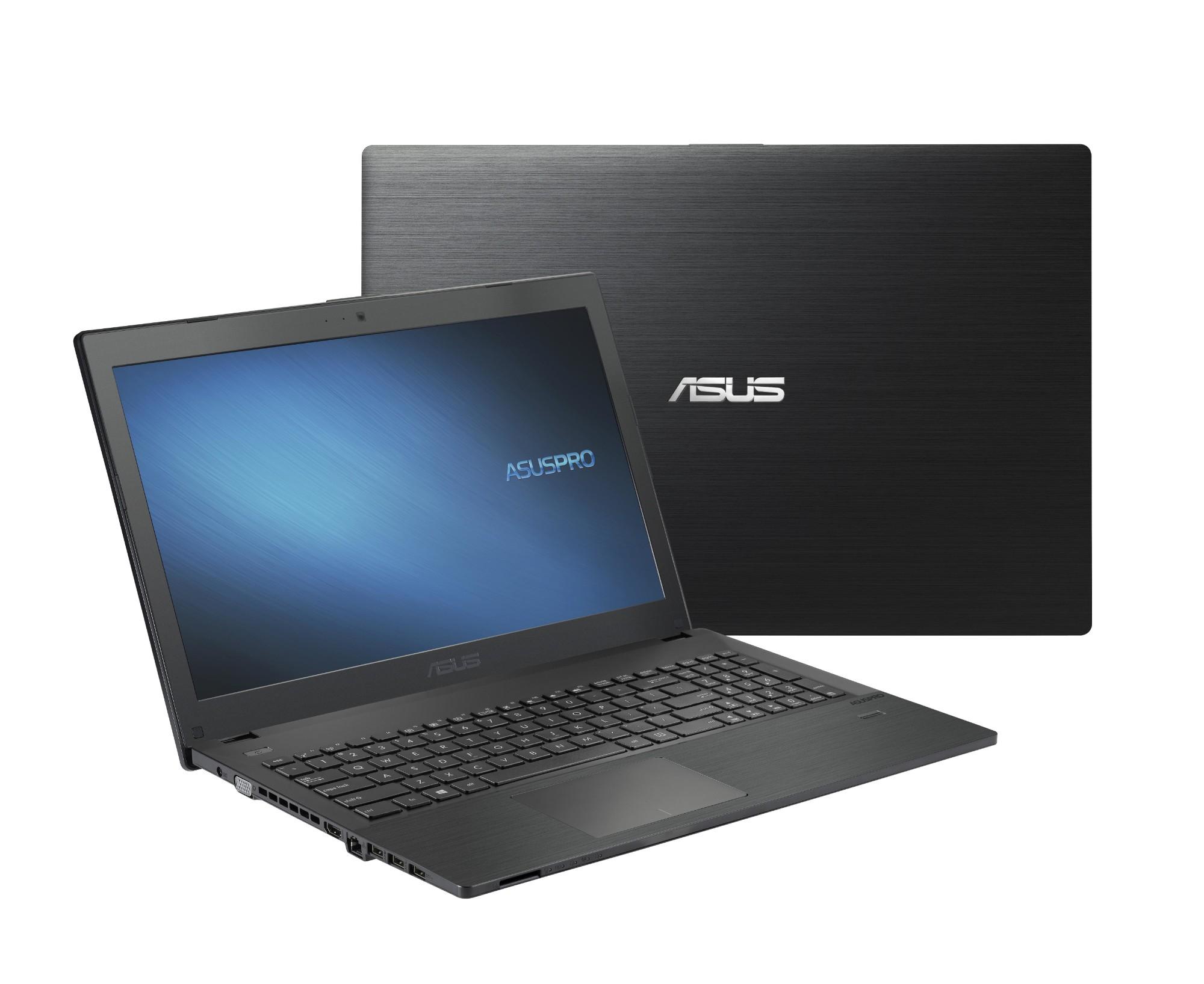 "ASUSPRO P2540UA-XO0193R-OSS 2.70GHz i7-7500U 15.6"" 1366 x 768pixels Black Notebook"