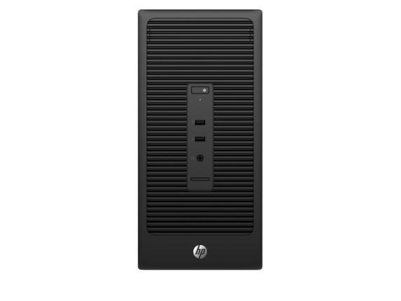 HP 200 285 G2 MT 3.1GHz A8 PRO-7600B Micro Tower Black