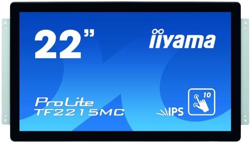 "iiyama ProLite TF2215MC-B2 touch screen monitor 54.6 cm (21.5"") 1920 x 1080 pixels Black Multi-touch Multi-user"