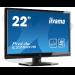 "iiyama ProLite E2282HS-B1 LED display 54.6 cm (21.5"") Full HD Flat Matt Black"