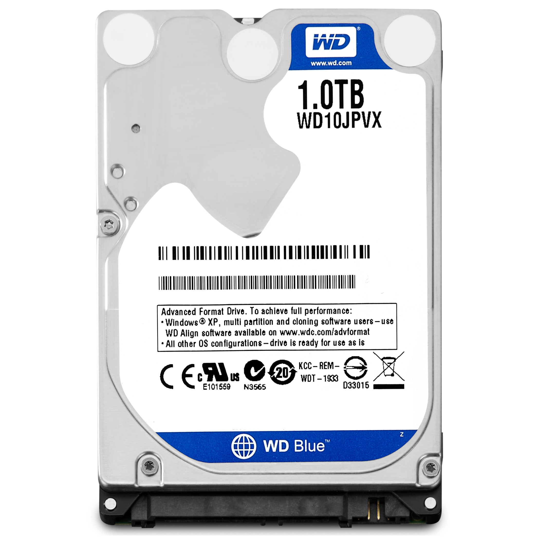 Western Digital Blue Mobile 1000GB Serial ATA III