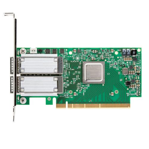 Mellanox Technologies MCX556A-ECAT adaptador y tarjeta de red Fibra 100000 Mbit/s Interno