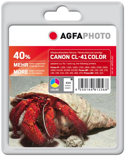 Compatible Inkjet Cartridge - Canon Cl-41c - 24ml - Colour
